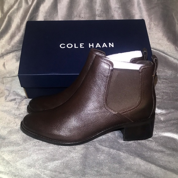 bright n colour quality products most popular NEW- Cole Haan Corinne Chelsea Boot- 8.5 - Brown